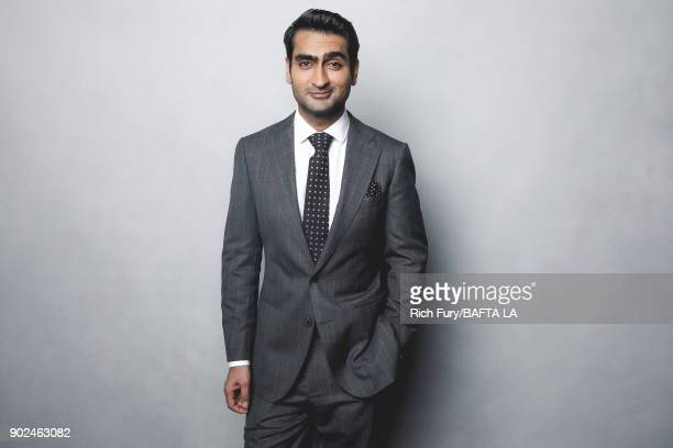 Kumail Nanjiani poses for a portrait at the BAFTA Los Angeles Tea Party on January 6 2018 in Beverly Hills California