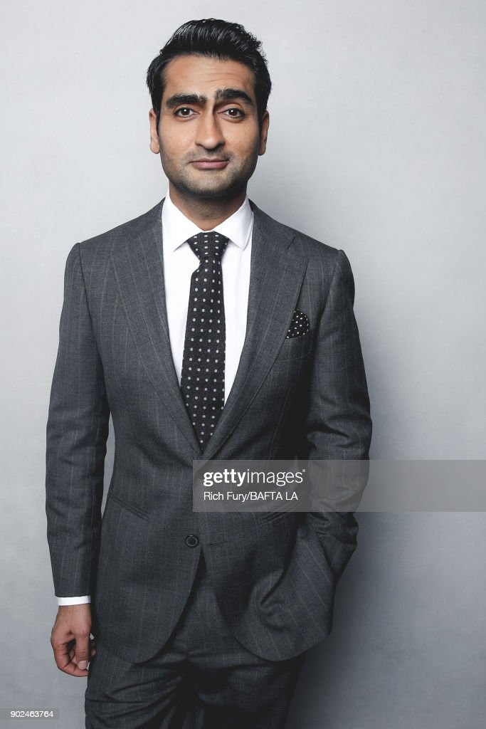 Kumail Nanjiani poses for a portrait at the BAFTA Los Angeles Tea Party on January 6, 2018 in Beverly Hills, California.