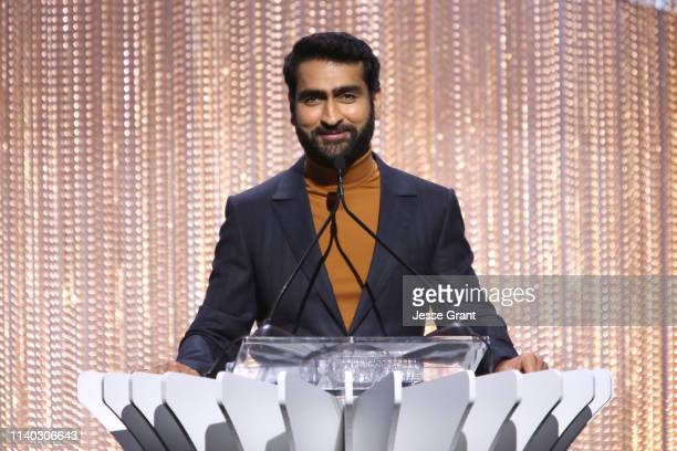 Kumail Nanjiani speaks onstage during The Hollywood Reporter's Empowerment In Entertainment Event 2019 at Milk Studios on April 30, 2019 in Los...