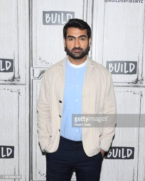 Kumail Nanjiani visits Build Series to discuss 'Stuber' at Build Studio on July 08, 2019 in New York City.