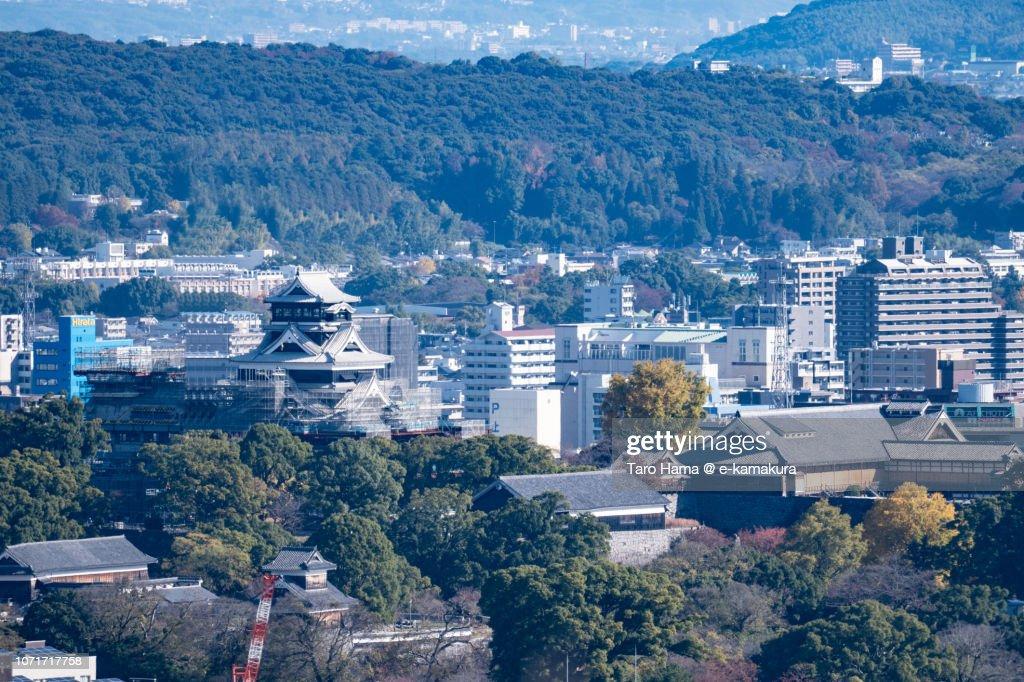 Kumamoto castle in Japan : Stock Photo