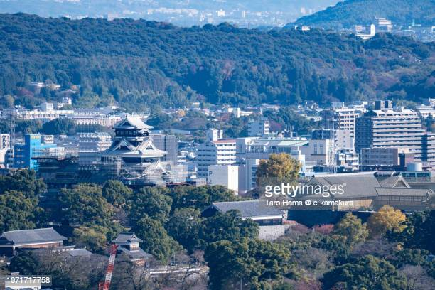 Kumamoto castle in Japan