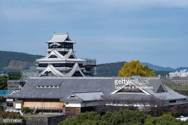 Kumamoto Castle in Kumamoto city in Japan