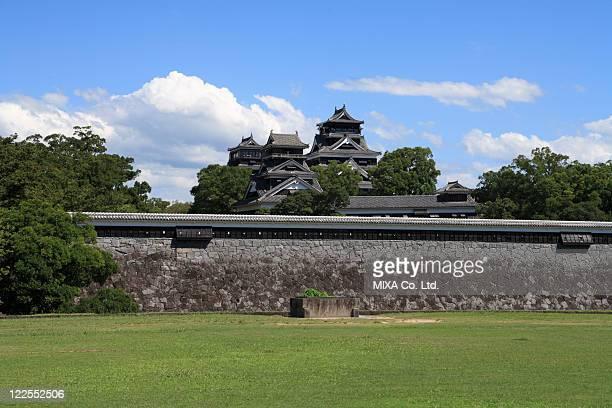 kumamoto castle, kumamoto, kumamoto, japan - 熊本県 ストックフォトと画像