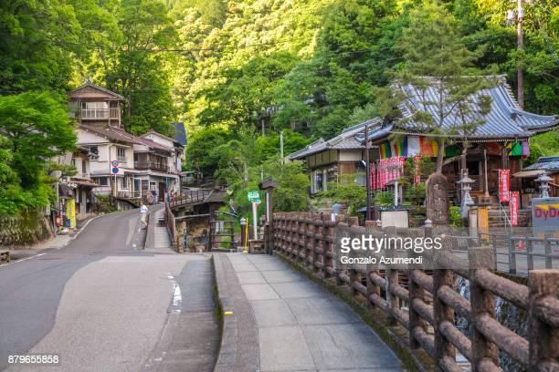 kumano kodo pilgrimage route in japan - präfektur wakayama stock-fotos und bilder