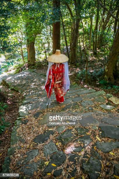 Kumano Kodo pilgrimage route in Japan