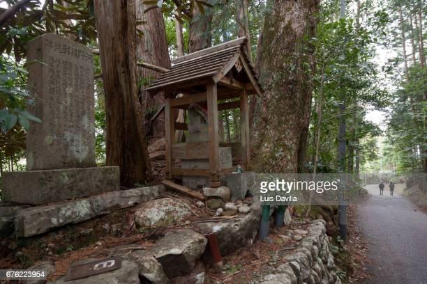 Kumano Kodo Sacred Japanese Trail. Wakayama. Japan