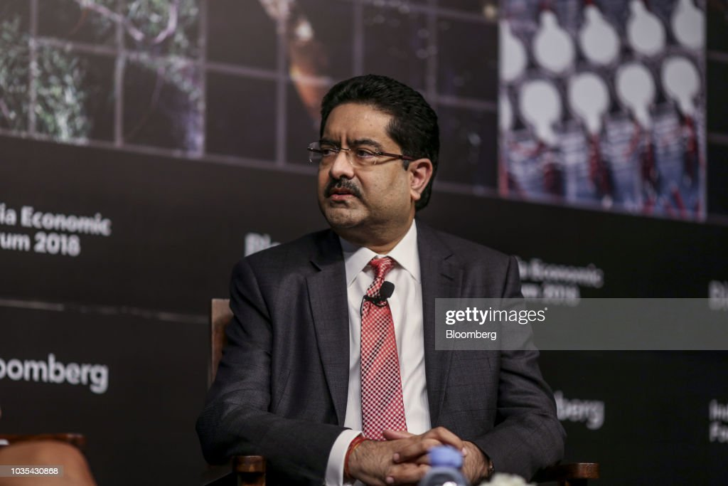 Aditya Birla Group Chairman Kumar Mangalam Birla And Key Speakers At The Bloomberg India Economic Forum