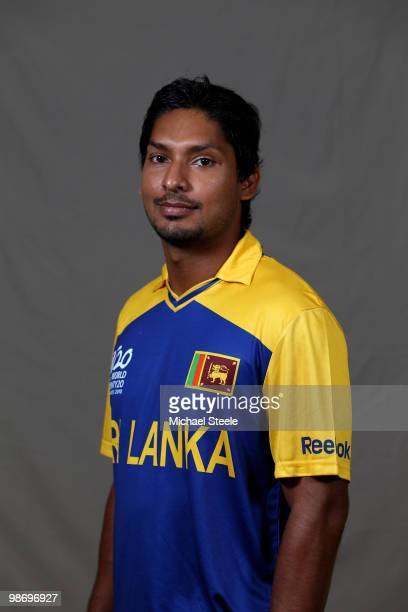 Kumar Sangakkara captain of the Sri Lanka T20 ICC World Cup squad on April 26 2010 in Bridgetown Barbados
