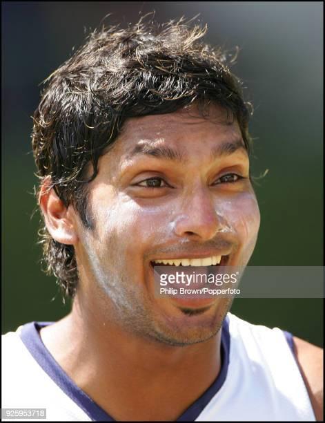 Kumar Sangakkara of Sri Lanka during a training session before the 1st Test match between Sri Lanka and England at Asgiriya Stadium Kandy 30th...