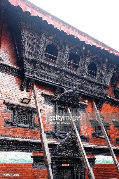 Kumari House in the landmark Durbar Square in Kathmandu, Nepal