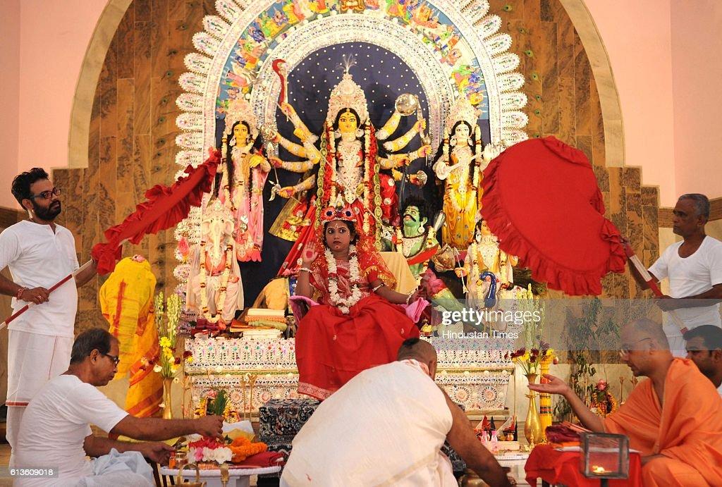 Navratri Festival Celebrations : News Photo