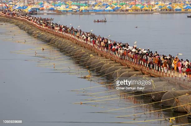 kumbh mela festival - prayagraj stock pictures, royalty-free photos & images