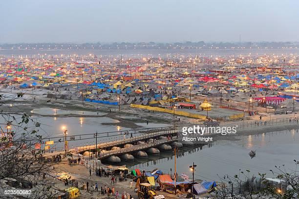 kumbh mela hindu festival - prayagraj stock pictures, royalty-free photos & images