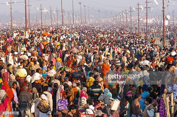 kumbh mela hindu festival - kumbh mela stock pictures, royalty-free photos & images