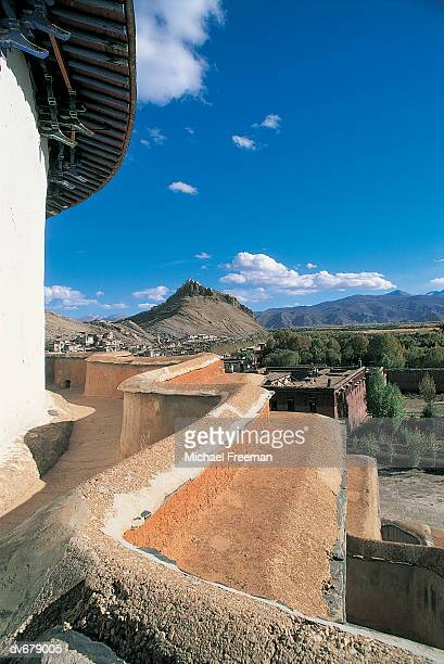 kumbum monastery, paldhor chode, tibet - chode picture stock photos and pictures