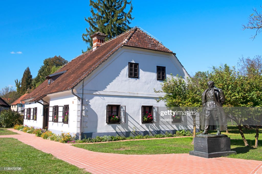 Kumrovec, Birth house of Josip Broz Tito : Stock Photo