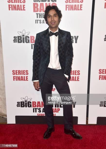 "Kunal Nayyar attends the series finale party for CBS' ""The Big Bang Theory"" at The Langham Huntington, Pasadena on May 01, 2019 in Pasadena,..."