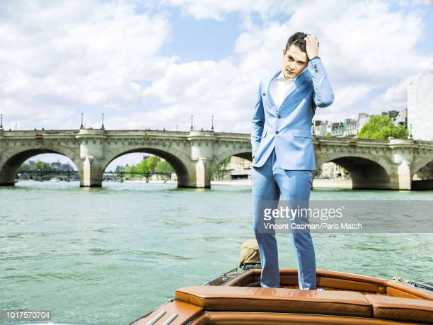 Kungs aka Valentin Brunel is photographed for Paris Match on April 27 2018 in Paris France