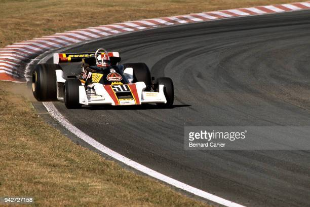 Kunimitsu Takahashi TyrrellFord 007 Grand Prix of Japan Fuji Speedway 23 October 1977