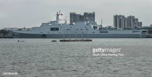 Kunlun Shan is the lead ship of China's type 071 amphibious transport vessels It is one of its most advanced and largest amphibious ships launched...