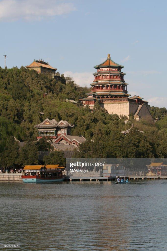 Kunming Hu lake, Summer Palace Park, Summer Palace, Beijing, China, Asia : Stock Photo