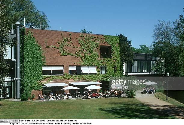 Kunsthalle Bremen Moderner Anbau Aussenansicht 2000 News Photo