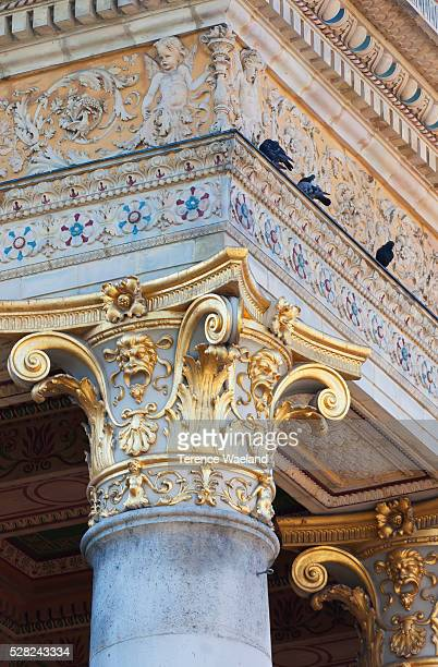 kunsthalle, or hall of art; budapest, hungary - terence waeland stock pictures, royalty-free photos & images