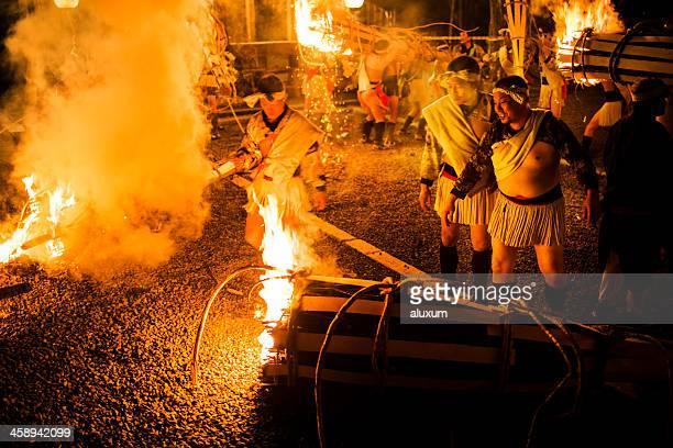 鞍馬の火祭京都日本