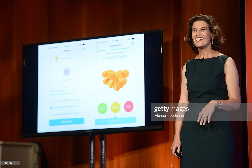 Kurbo Founder and CEO Joanna Strober speaks onstage during The New York Times Health For Tomorrow Conference at Mission Bay Conference Center at UCSF on May 29, 2014 in San Francisco, California.
