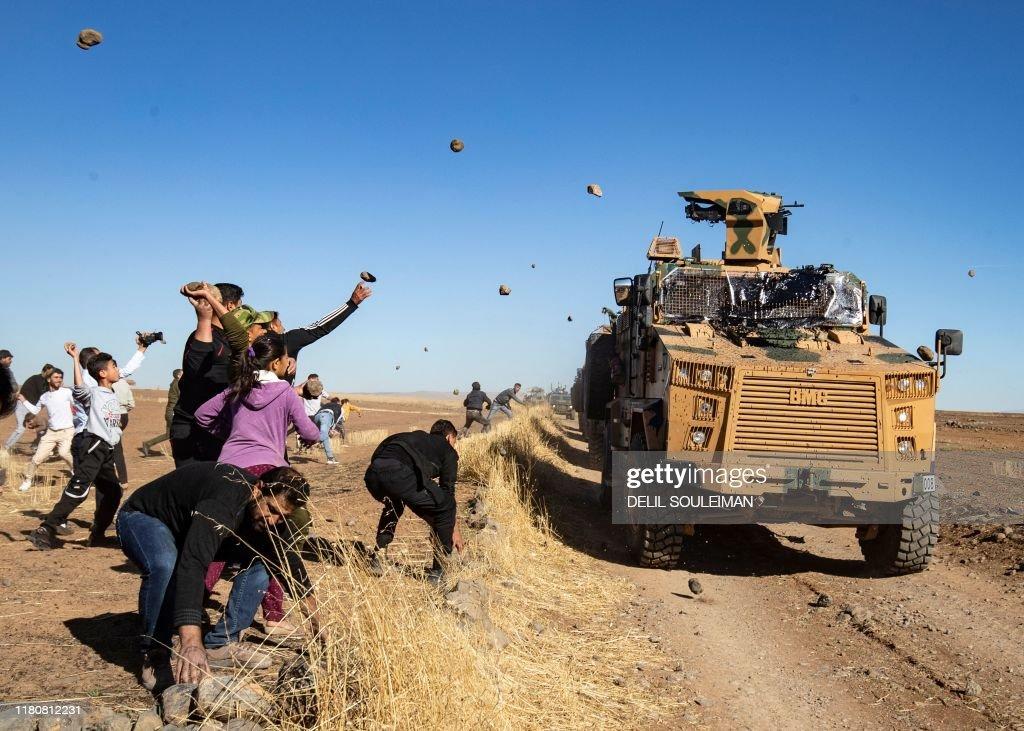 SYRIA-TURKEY-RUSSIA-CONFLICT-KURDS : News Photo