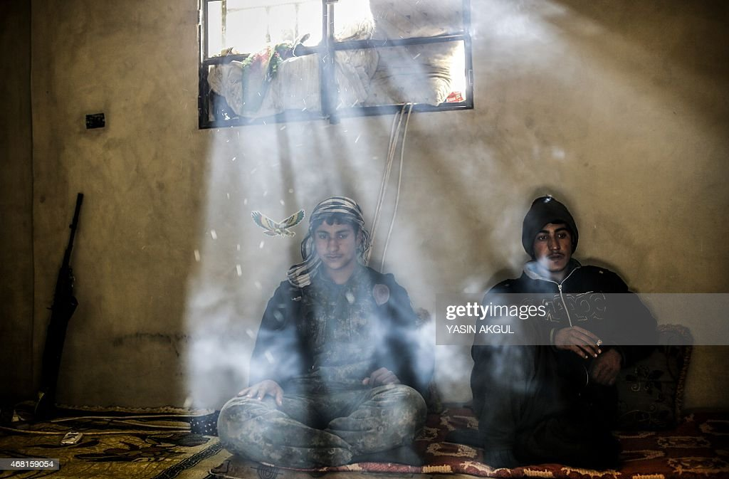 SYRIA-CONFLICT-KOBANE : News Photo