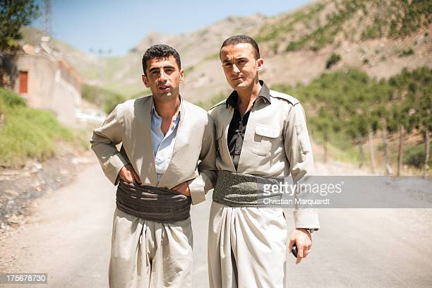 Kurdish man during a wedding ceremony at a small village in the mountains of Hakkari on June 06 2013 Hakkari is a city and the capital of the...