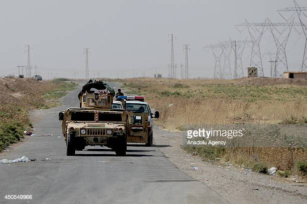 Kurdish Peshmerga forces seize the control of Kirkuk where Iraqi army forces and Islamic State of Iraq and the Levant had clashes and Iraqi forces...