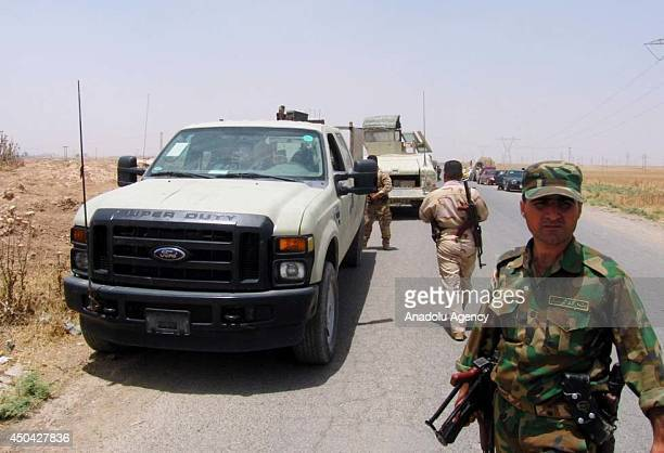 Kurdish peshmerga forces take control of Toz Khormato after a militant group called the Islamic State of Iraq and the Levant having taken control of...