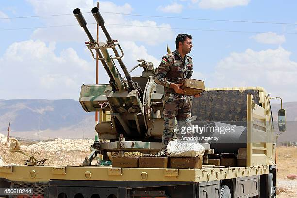 Kurdish Peshmerga forces take the control of Rabia town of Mosul where Iraqi army forces and Islamic State of Iraq and the Levant had clashes and...