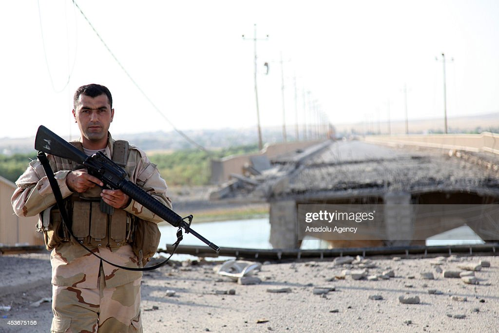 Clashes between Iraqi army and militants from the Islamic State : ニュース写真