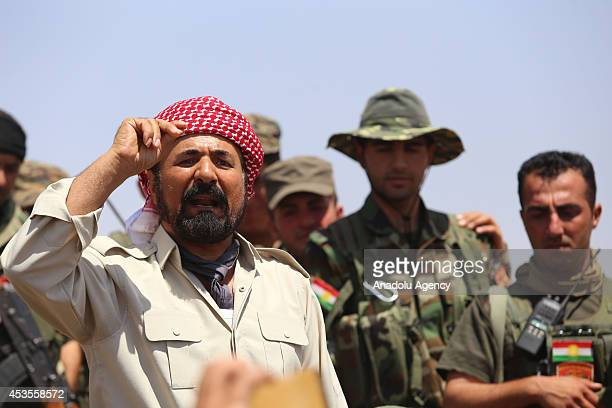 Kurdish popular singer Sivan Perwer motivate Kurdish peshmerga in support of their fight with Islamic State , formerly known as Islamic State of Iraq...