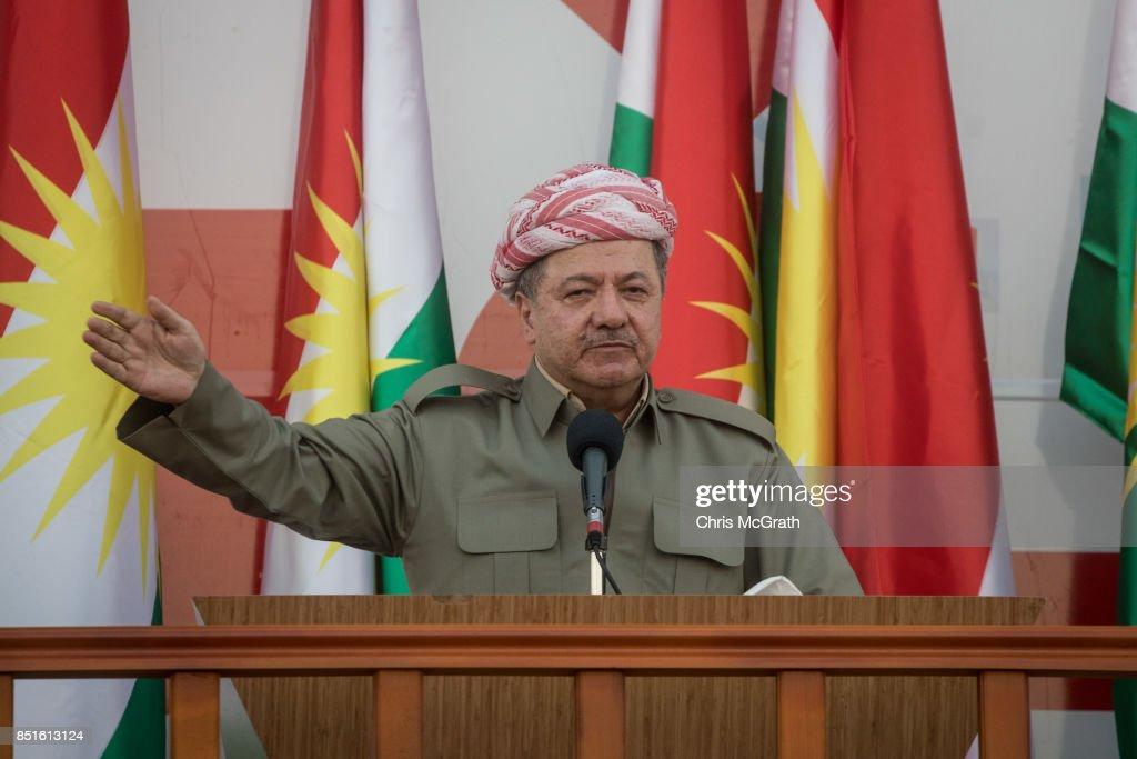 Preparations Continue for the Iraqi Kurdistan Independence Referendum : News Photo