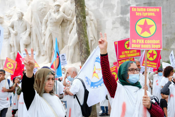 FRA: Kurdish Demonstration In Paris