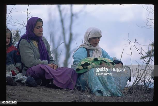 Kurdish Refugees on Isik Veren Mountain