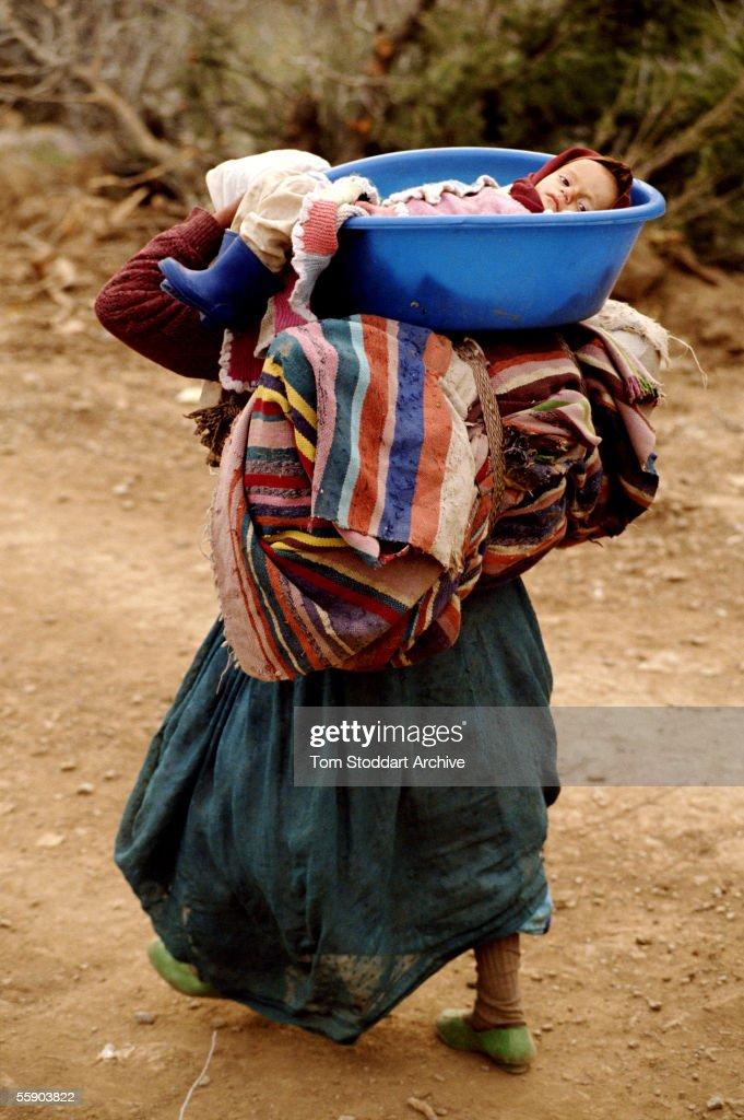 Kurdish Refugees : News Photo