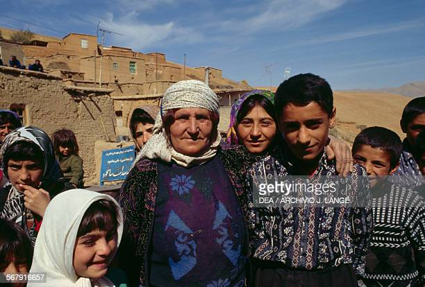 Kurdish villagers, Iranian Azerbaijan, Iran.