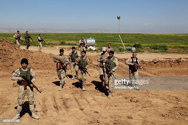 Kurdistan Regional Government Ministry of Peshmerga Affairs offers military training to Iraqi Christians who take part in fight against the Daesh...