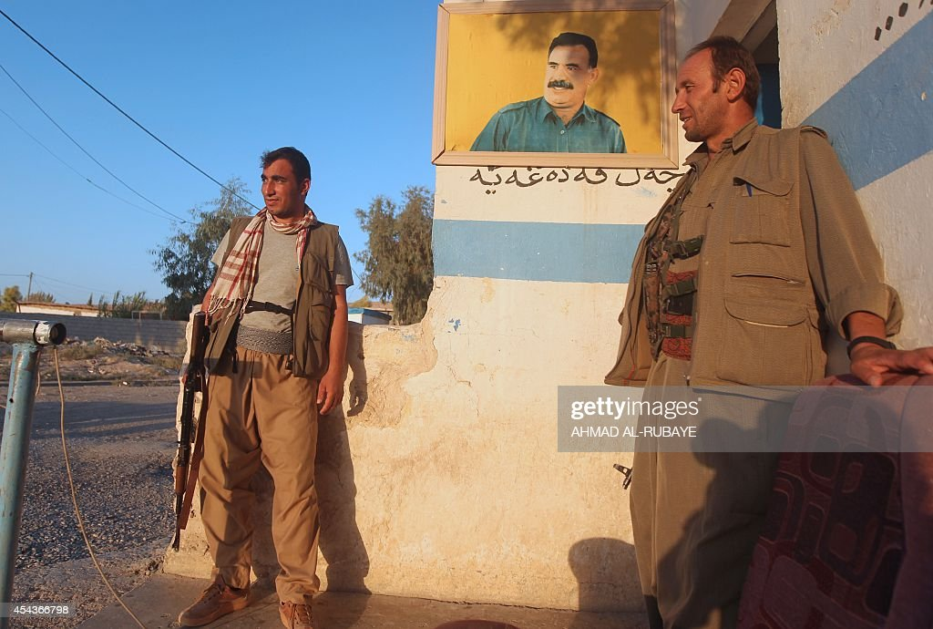 IRAQ-SYRIA-CONFLICT-US-KURDS-TURKEY-IRAN : News Photo