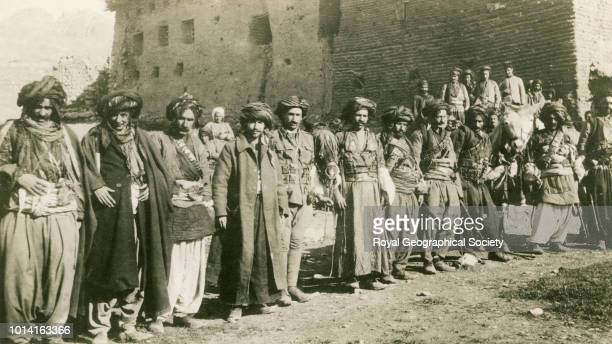 Kurds at Rania Iraq 1915