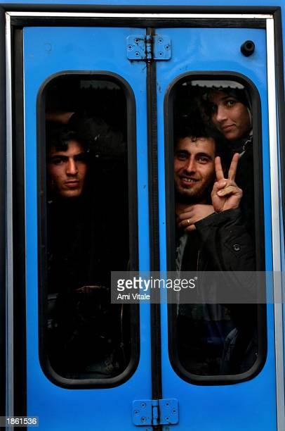 Kurds celebrate the Newroz festival a festival to mark the first day of spring March 21 2003 in the suburbs of Diyarkabir southeastern Turkey Turkey...