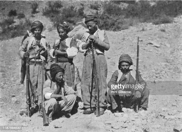 Kurds of Shaykh Sadik's 'Army'' circa 19061913 Kurdish men with rifles and bullet belts Khatuna From The Caliphs' Last Heritage a short history of...