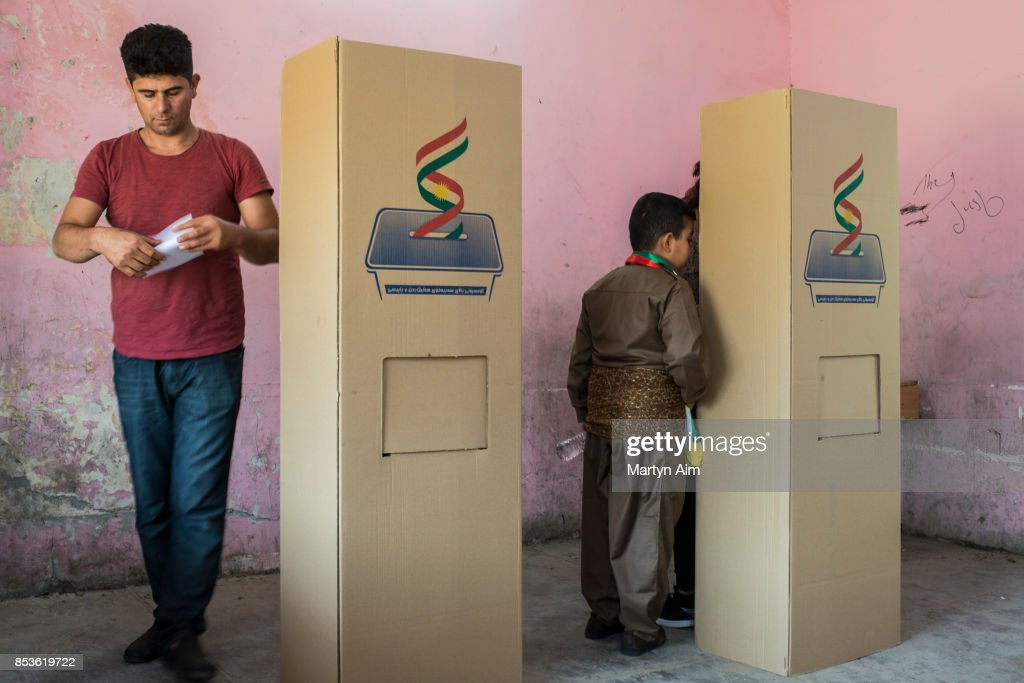 Iraqi Kurdistan Independence Referendum : News Photo