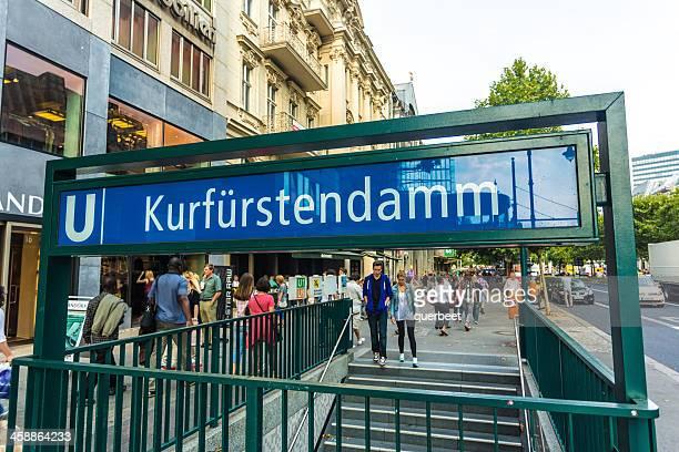 kurfürstendamm in berlin - kurfürstendamm stock pictures, royalty-free photos & images